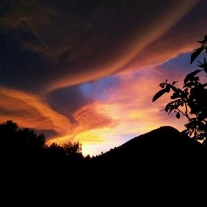 Sonnenaufgang am Refugio Marnes
