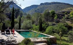 Pool von Agrotourismus Spanien Refugio Marnes