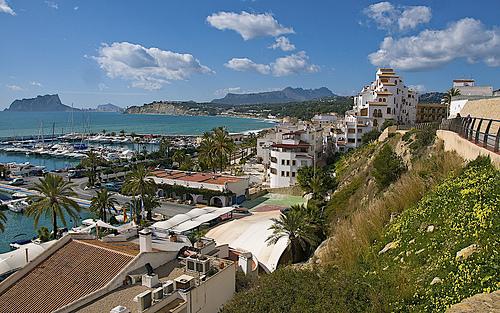 Nette Dörfer Alicante, Moraira überblick