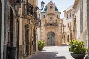 Nette Dörfer Alicante, Teulada Kirche