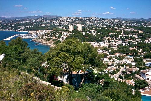 Nette dörfer Alicante, Teulada überblick