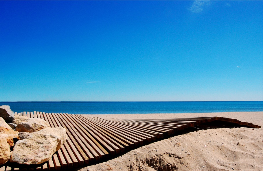 Schöne Städte Costa Blanca, Alicante Strand