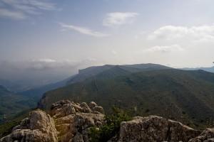 Coll de Rates, Costa Blanca Wandern