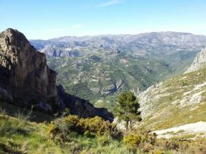 Wanderangebot Spanien, Gegend Refugio Marnes