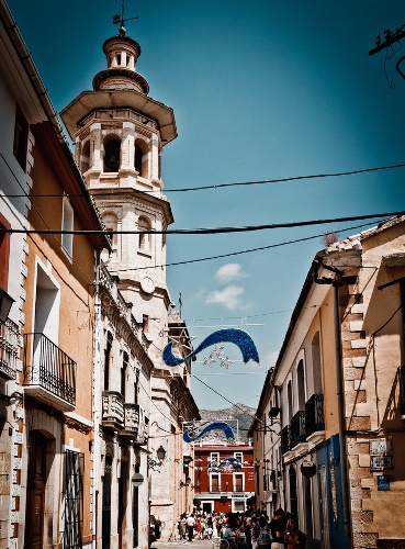 Dörfer Alicante, Jalón en Fiestas