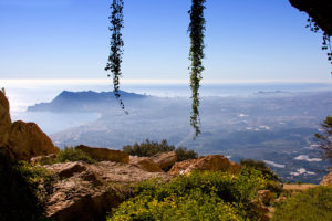 blick von der Sierra de Bernia