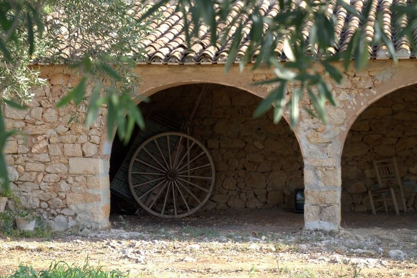 Ein riu rau, bei Agrotourismus Spanien Refugio Marnes