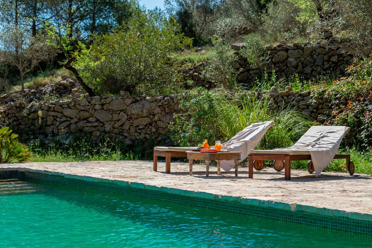 Agrotourismus mit Pool in Spanien