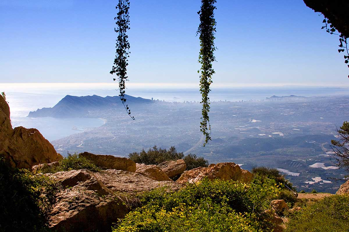 Umgebung von Refugio Marnes die Sierra de Bernia