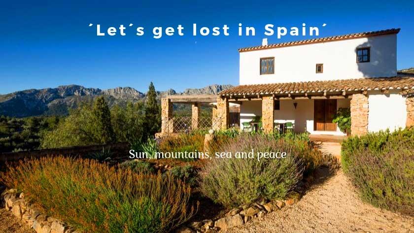 Finca urlaub in Spanien, Ferienhaus Finca Iris