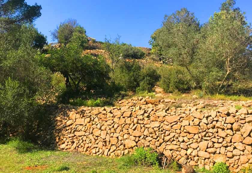landschaftspflege bei Agritourismus Refugio Marnes
