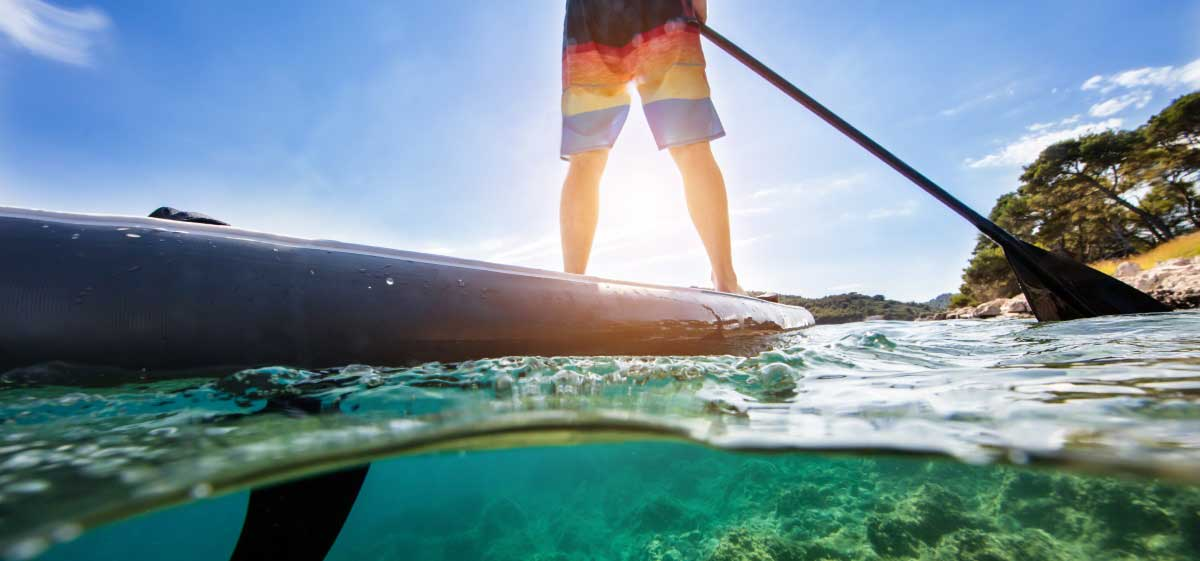Stand up paddle, Aktivferien Spanien