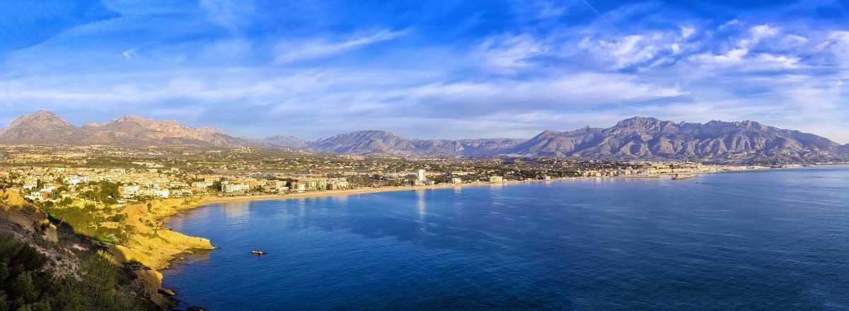 Die Costa Blanca und das Hinterland von Alicante
