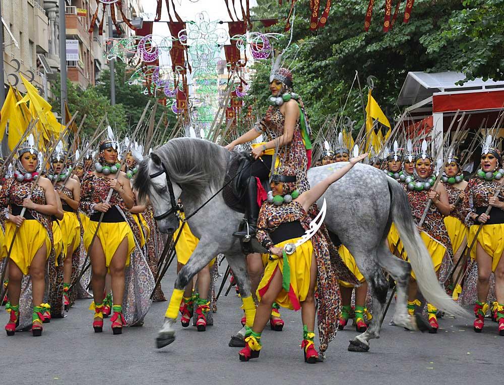 Moros y Cristianos en Elda, ein Fest um nie zu vergessen