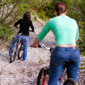 Cycling at Refugio Marnes