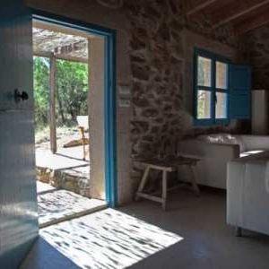 The livingroom of holiday home La Ruina