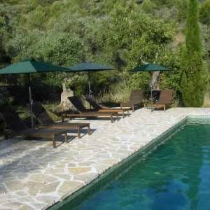 The swimmingpool of ecolodge Refugio Marnes