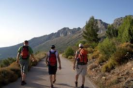 Walknig tours Spain, hike on Sierra de Bernia