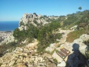 Hiking holidays Spain, the montgó hike and summit