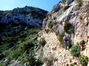 hiking alicante, peñon ifach in Calpe a great hike of aproximatly 2,5 hrs