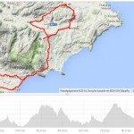 The ´Benissa - Altea - Callosa - Altea la Vella - Benissa - Gata - Xaló - Benissa´tour, a nice trip during Cycling Spain!