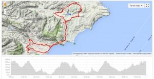 The ´Benissa - Altea - Callosa - Altea la Vella - Benissa - Gata - Xaló - Benissa´tour, a nice trip during Cycling Spain!
