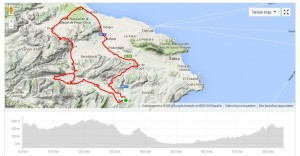 Road biking spain, Benissa - Parcent - Murla - Pego - Gata - Benissa