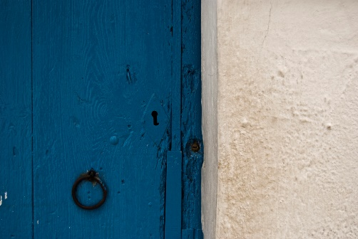 Old door Altea,
