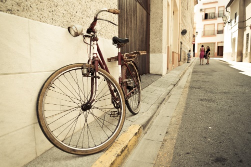 Village Costa Blanca, picture of street life