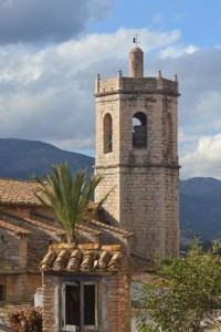 Villages Costa Blanca the church of Lliber