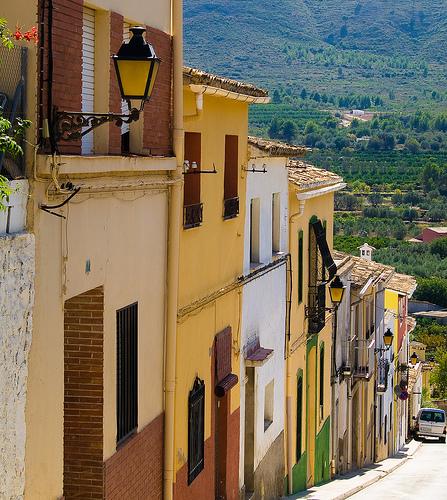 Villages Alicante province, Parcent
