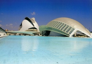 Calatrava Complex, cities Spain, Valencia