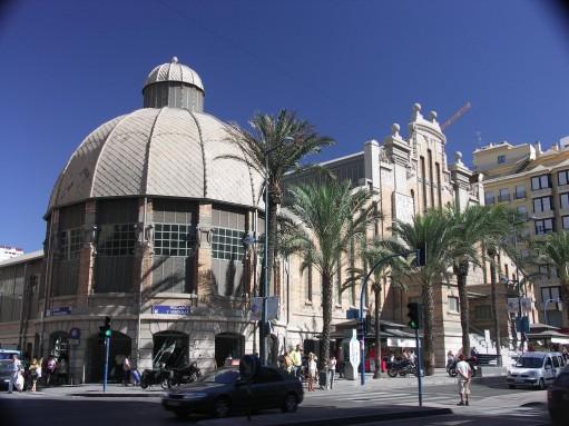 Market Alicante, Beautiful cities Costa Blanca