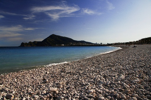 Pebble beach Altea