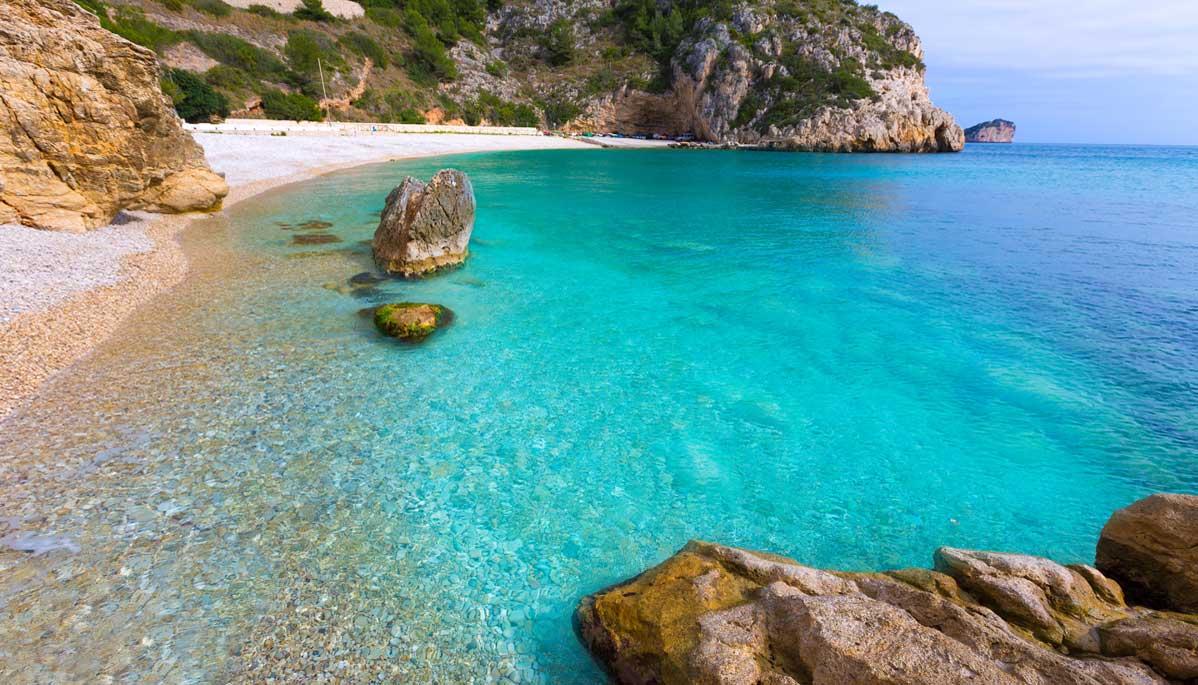 grandadella beach, Javea Alicante