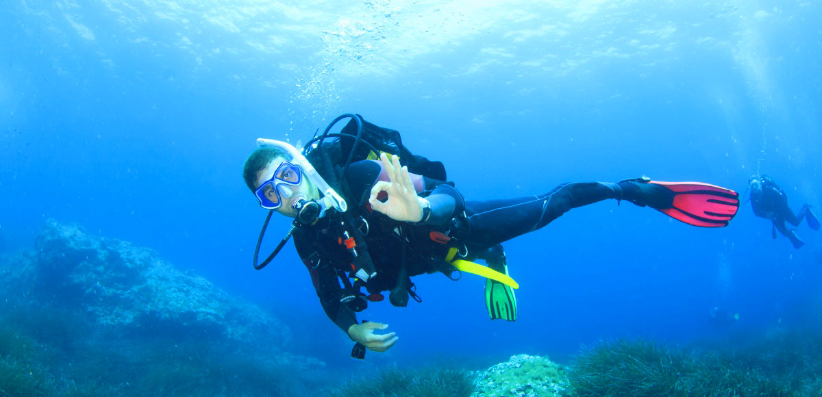 active holidays in Spain, diving and snorkling on the costa blanca