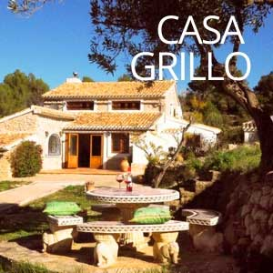 Rustic holiday home Casa Grillo
