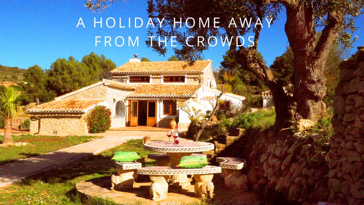 rustic holiday home on the costa blanca casa Grillo