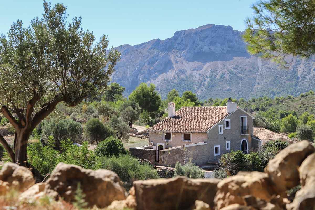 views holiday home Casa Grillo