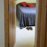 the comfortable bedroom of La Ruina