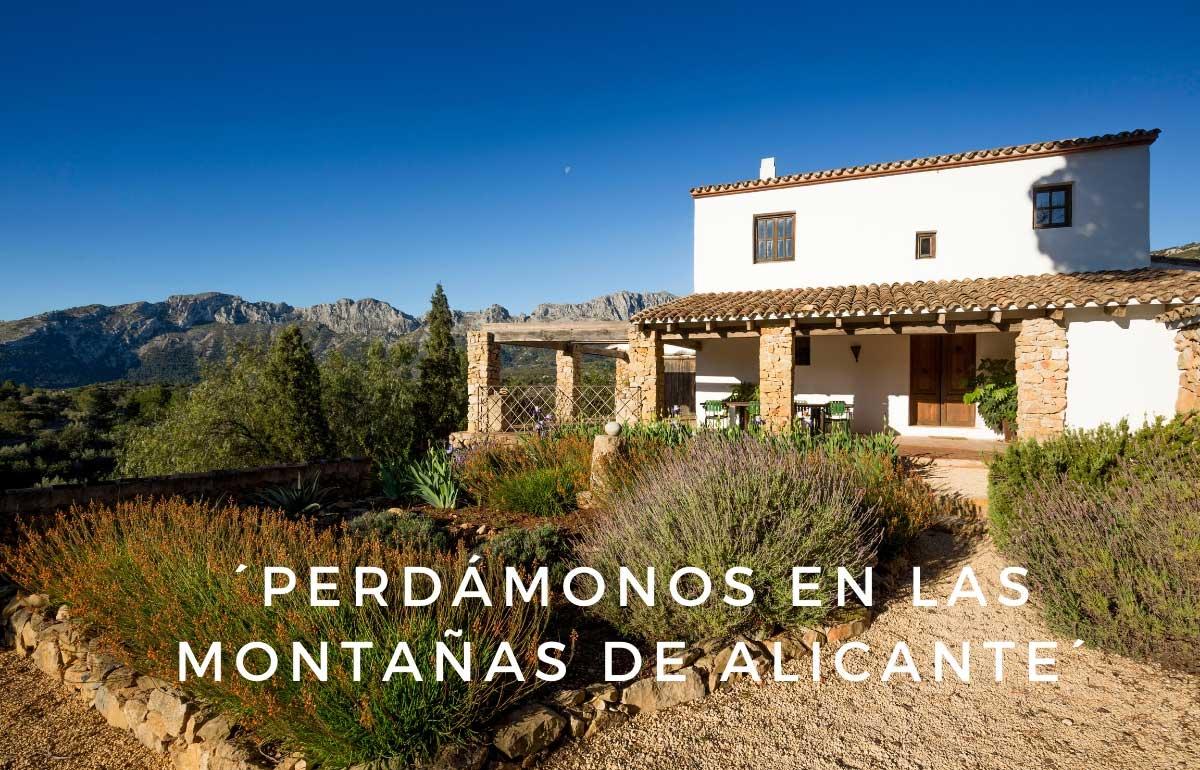 finca vacacional provincia de Alicante Finca Iris