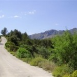 Hiking, climbing or cycling on the Costa Blanca, Spain