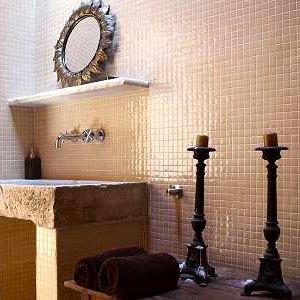 Badkamer met stijl bij Bed en Breakfast Los Establos