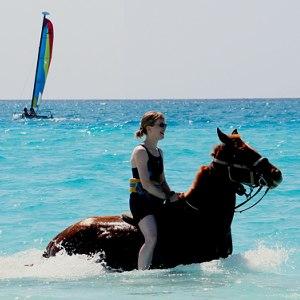 Zeilen en paardrijden aan de Costa Blanca