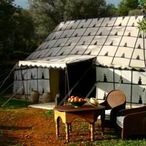 Glamping luxe: Bedoeinen tent La Jaima