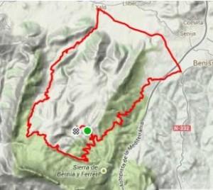 fietsen in Spanje, Refugio Marnes, Jalon, Refugio Marnes