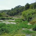 wandelreizen Spanje, wandeling door bedding Gorgos rivier