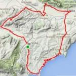 Route wielrennen Costa Blanca route Benissa-Javea-Benissa