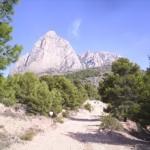 Wandelen Alicante Spanje, ronden van de Puig Campana