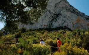 Wandelreis Spanje, wandelpad Peñon Ifach